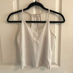 Urban Outfitters White Tank Top